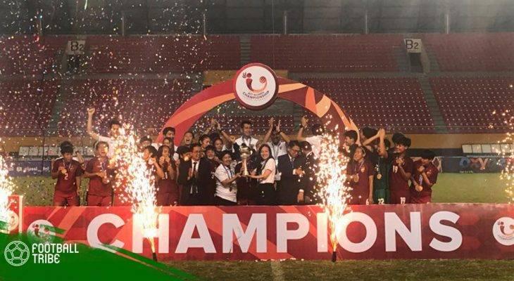Ngược dòng khó tin, ĐT nữ Thái Lan vô địch Đông Nam Á