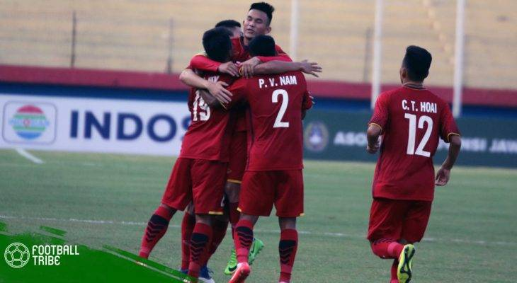 U22 Việt Nam thua SV.HQ 1-3 trong trận đấu tập