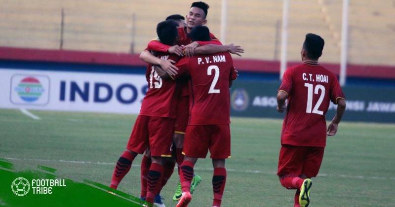 Giao hữu tại Indonesia, U19 Việt Nam 1-0 U19 Trung Quốc