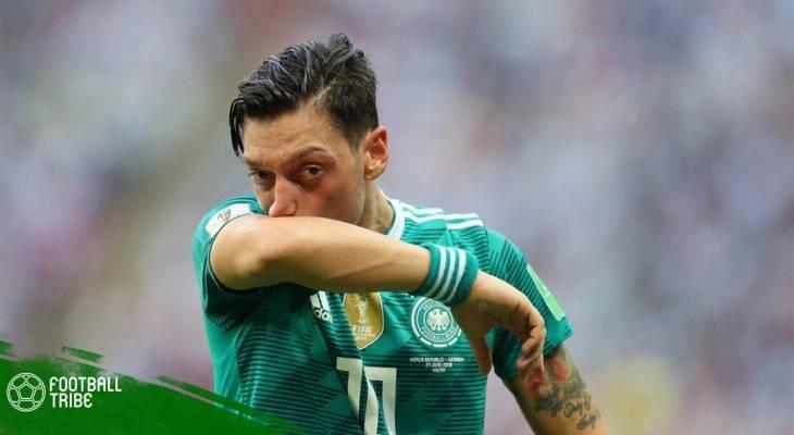 Ozil chia tay đội tuyển Đức
