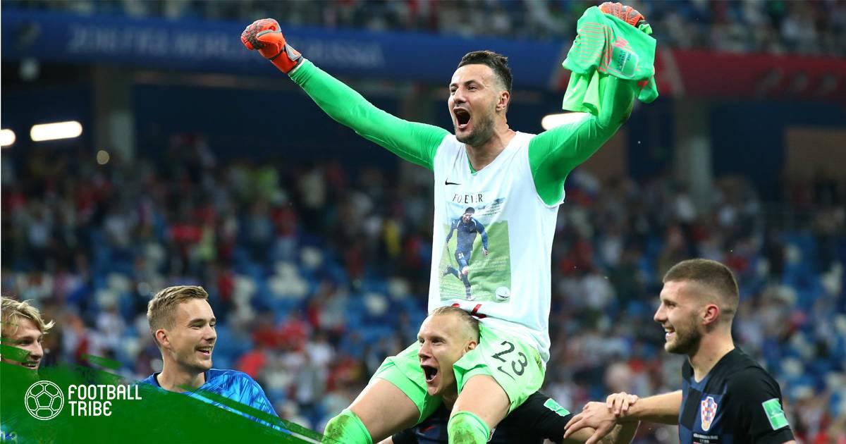 Danijel Subasic – Từ ngưỡng cửa chia tay bóng đá đến người hùng Croatia