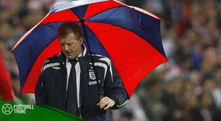 """ĐH tuyển Anh """"đánh rơi"""" vé dự Euro 2008 trước Croatia giờ ở đâu?"""
