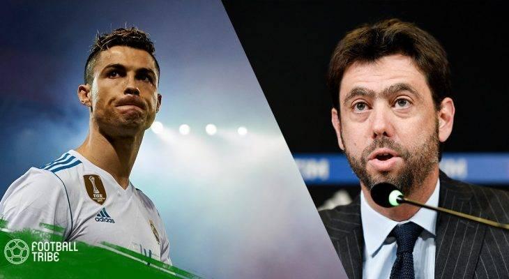 """NÓNG: Chủ tịch Andrea Agnelli """"đón"""" Ronaldo về Turin!"""