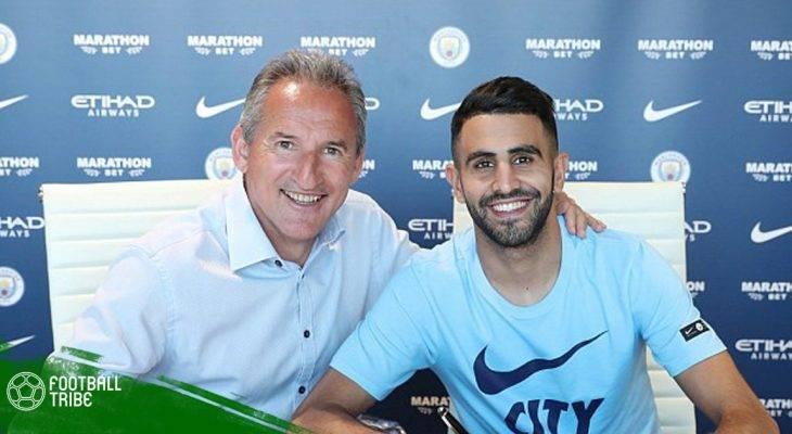 Mahrez chính thức gia nhập Man City