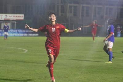 U19 nữ Việt Nam có chiến thắng đầu tiên