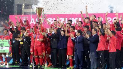 Tổng thống Hàn Quốc chúc mừng đội tuyển bóng đá Việt Nam