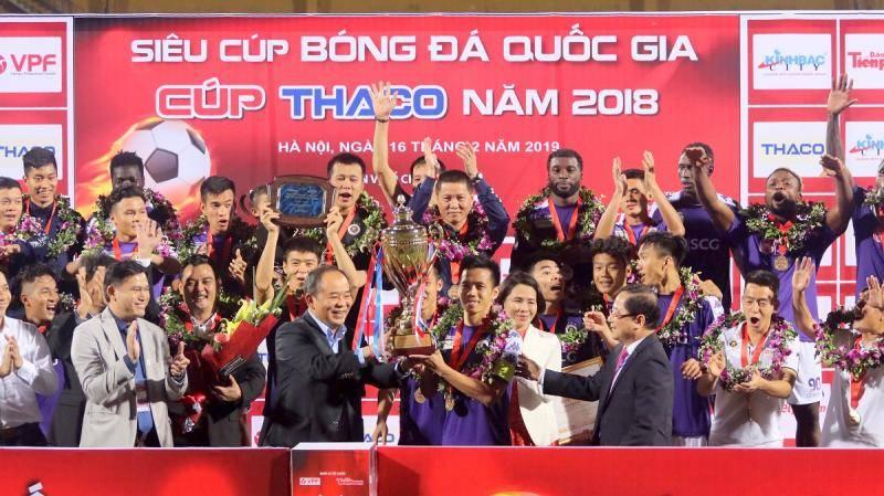 Thắng dễ Bình Dương, Hà Nội FC đoạt Siêu cúp quốc gia 2018