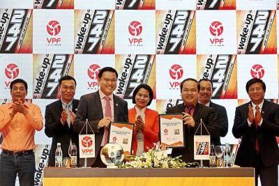 Công ty CP hàng tiêu dùng Masan là nhà tài trợ chính Wake-up 247 V.League 2019