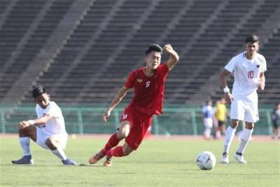 Giải U22 Đông Nam Á: Thắng Philippines, Việt Nam giành 3 điểm đầu tiên