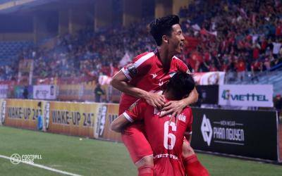 Đánh bại Thanh Hóa trên sân nhà, Viettel có trận thắng đầu tiên tại V-League 2019
