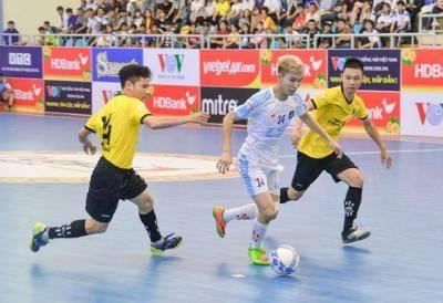 Sớm xác định 4 đội vào vòng 2 giải Futsal VĐQG 2019