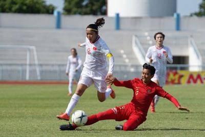 Đội nữ Việt Nam sớm lấy vé vào bán kết giải Đông Nam Á