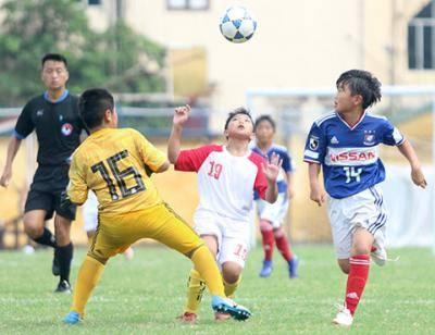 Khai mạc giải U13 quốc tế Hà Nội mở rộng 2019