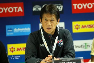 HLV Akira Nishino quyết thắng ĐT Việt Nam ở trận ra mắt ĐT Thái Lan