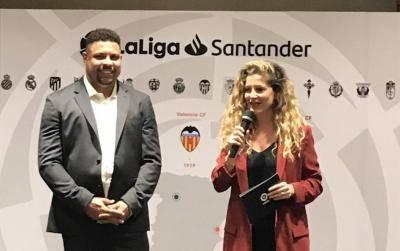 """Ronaldo """"béo"""" muốn lan tỏa LaLiga đến thị trường châu Á"""
